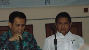 Komisi 1 DPR RI, Bp.Mahfusz Siddiq dan Menkoinfo, Bp.Rudiantara