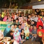 Meriahnya Bukber Blogger Repotase Indonesia (BRID) Di Warung Daun Cikini